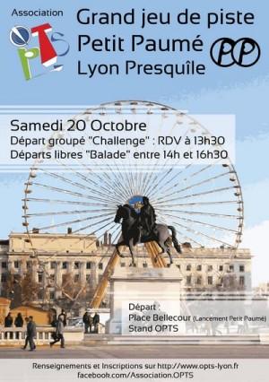 Lyon Presqu'île - Jeu de piste Petit Paumé - OPTS
