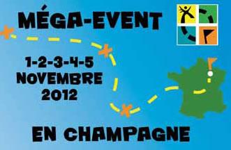 Méga-event geocaching en Champagne