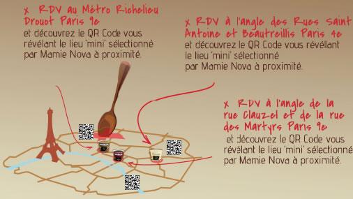 Paris : parcours découverte et dégustation Mamie Nova