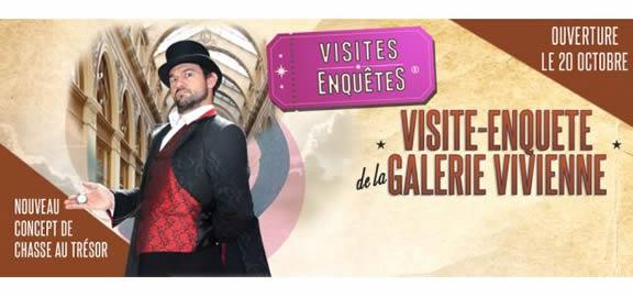 Visite-enquête de la Galerie Vivienne - Paris