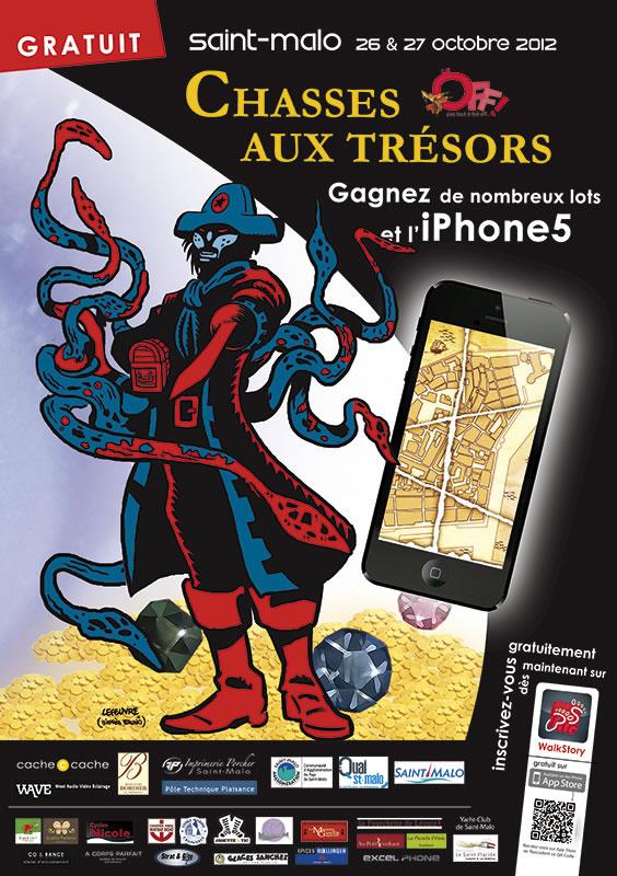 Course aux Pièces d'Or sur iPhone - Saint-Malo