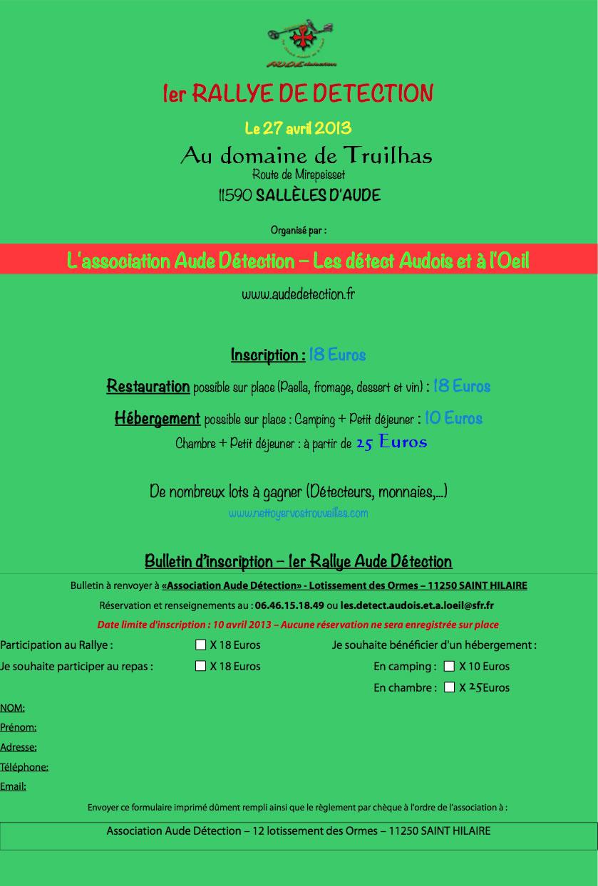 Rallye Aude-Détection