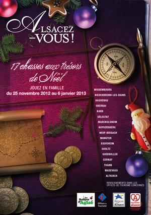 Les chasses aux trésors de Noël en Alsace