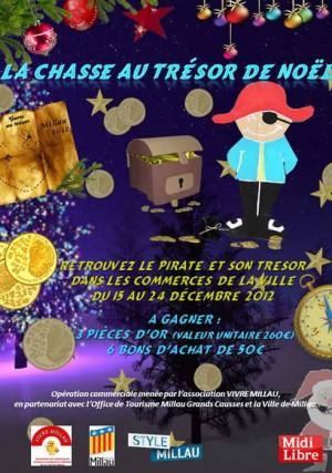 Millau : la chasse au trésor de Noël