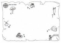 Carte au trésor mathématiques