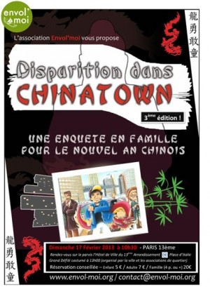 Paris - Disparition dans Chinatown