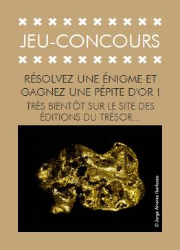 Les Éditions du Trésor - Jeu concours