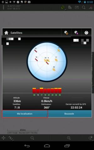 Locus - Statut du GPS