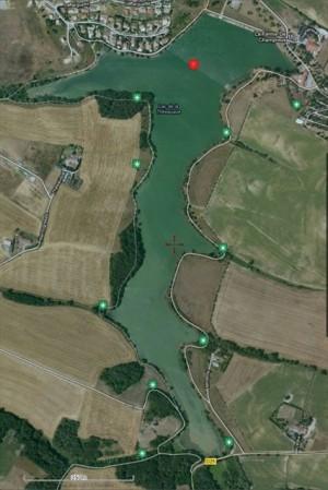 Sic Parvis Magna - Vue globale du parcours (image Locus Pro & Google)