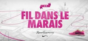 Ne perdez pas le fil à Paris - Nike Running France