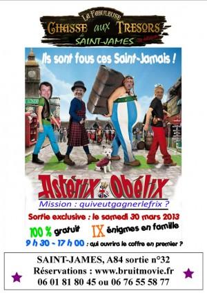 Saint-James - Astérix et Obélix, Mission : quiveutgagnerlefrix