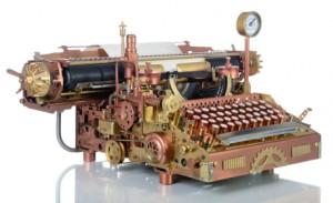 Cyberpunk - Machine à écrire