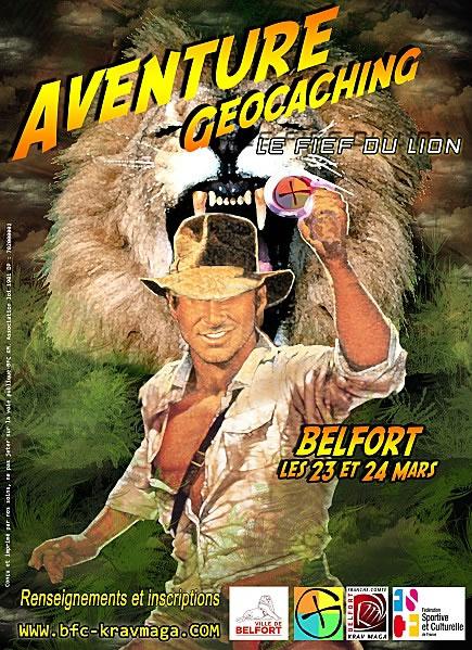 Aventure geocaching - Le fief du lion