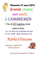 Chasse aux oeufs - Cambremer