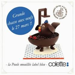 Colette - Paris - Chasse aux oeufs