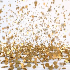 Pièces or - trésor - générique