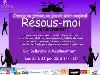 Résous moi - Chasse au trésor musicale à Paris