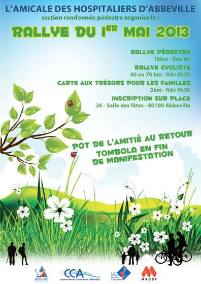 Abbeville : rallye du 1er mai