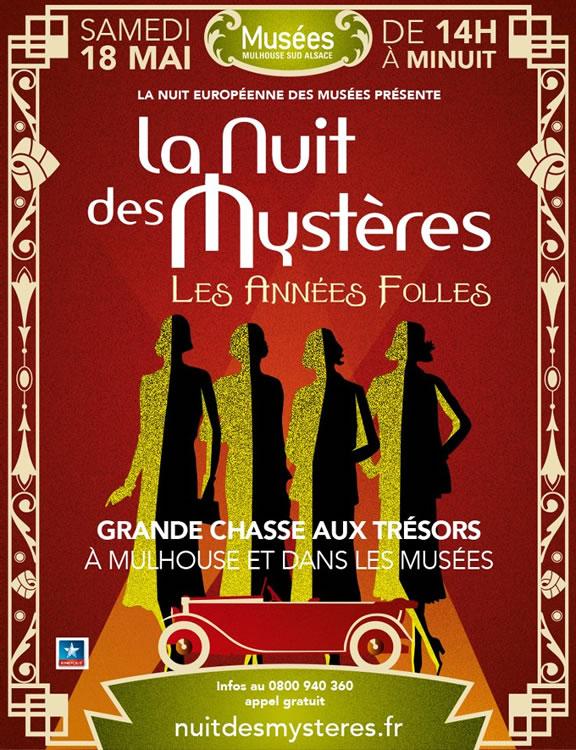 La Nuit des Mystères 2013 - Les Années Folles