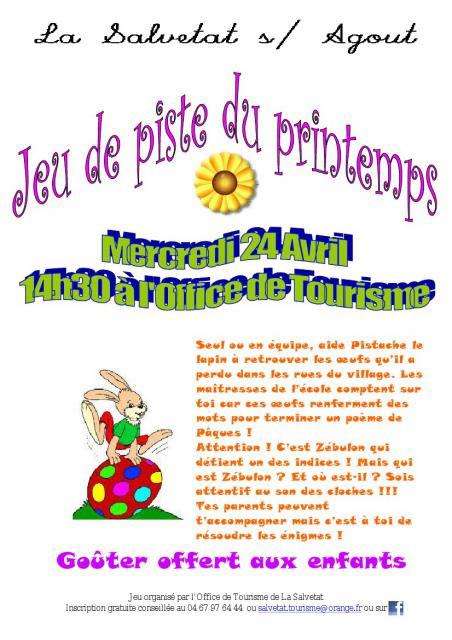 La Salvetat-sur-Agoût - Le jeu de piste du printemps