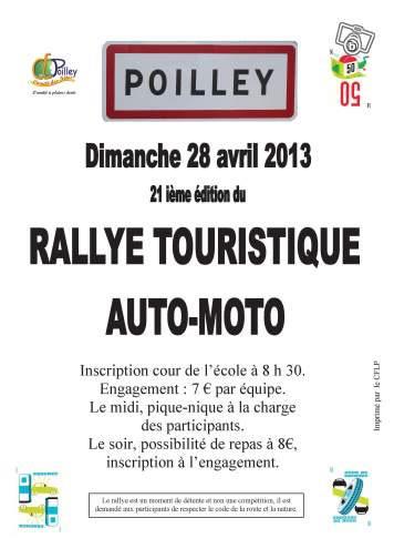 Comment organiser un rallye touristique