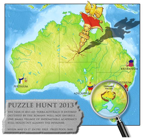 Puzzle Hunt 2013