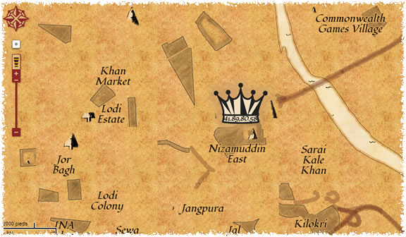 La chasse au trésor de Google Map