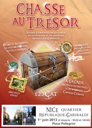 Chasses au trésor à Nice