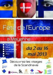 Fête de l'Europe - Mayenne