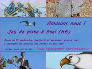 Jeu de piste à Etel (Morbihan)