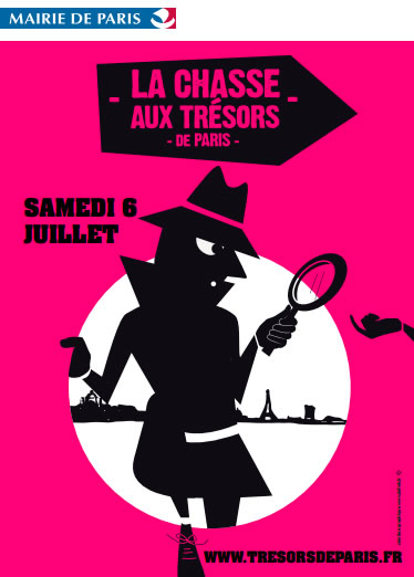 La Chasse aux Trésors de Paris 2013