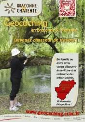 Geocaching en Braconne Charente