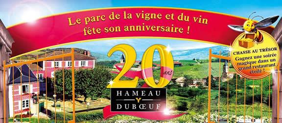 Hameau Duboeuf - Chasse au trésor au parc de la vigne et du vin