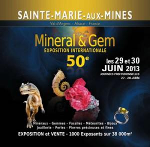 50ème anniversaire de Mineral & Gem - Sainte-Marie-aux-Mines