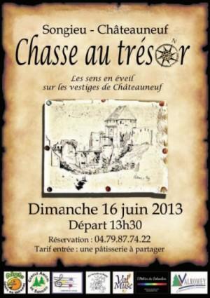 Chasse au trésor à Songieu - Châteauneuf