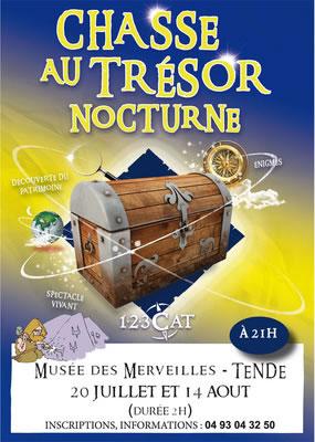 Chasse au trésor nocturne au musée des Merveilles