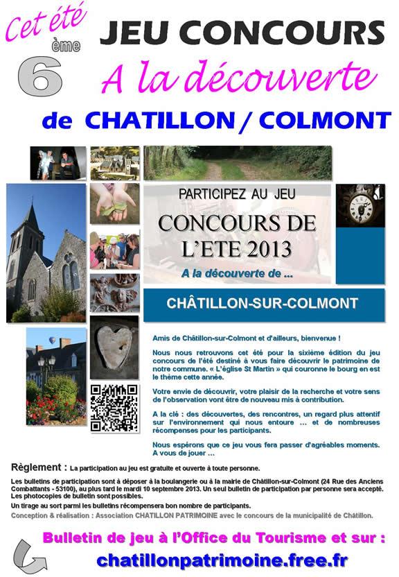 A la découverte de Chatillon / Colmont