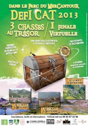 DéfiCAT 2013 - 3 chasses au trésor et une finale