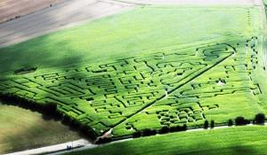Chasse au trésor dans le labyrinthe du pays de Rouen