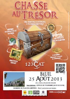 Chasse au trésor théâtralisée à Beuil