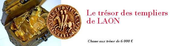 Le trésor des templiers de Laon