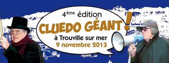 Cluédo géant à Trouville-sur-Mer 2013