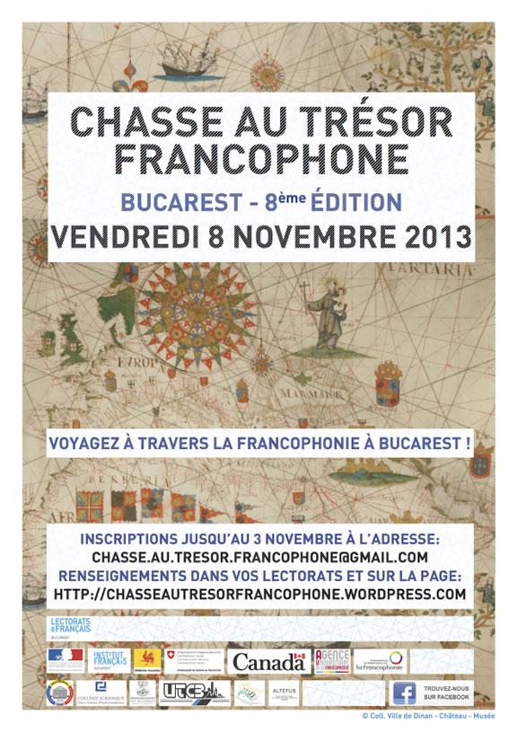 8e édition de la chasse au trésor francophone de Bucarest