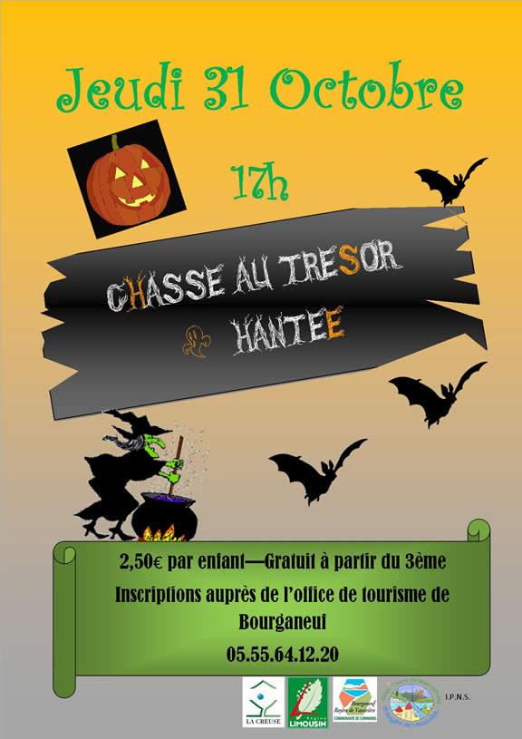 Bourganeuf - Chasse au trésor hantée et visite du cimetière
