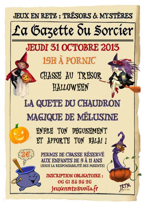 Halloween : la quête du Chaudron Magique de Mélusine