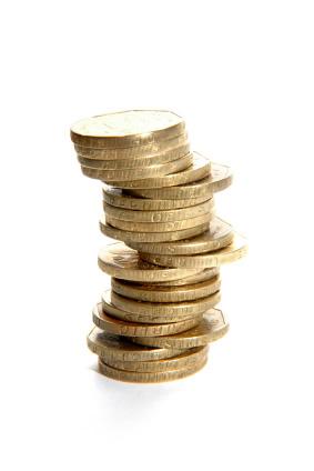 Pile monnaie or