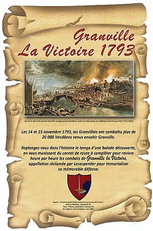 Granville - La victoire 1793