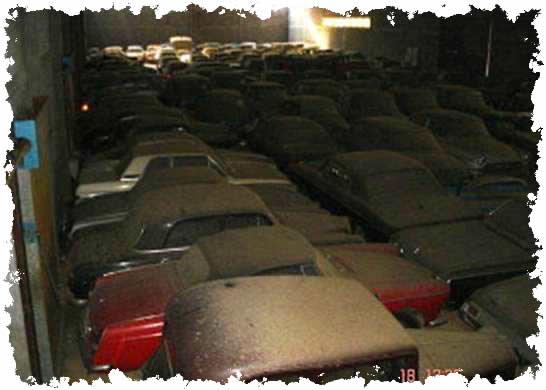 Collection de voitures