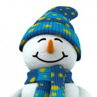 Bonhomme de neige - Hiver