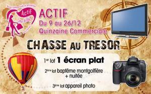 Union commerciale et artisanale ACTIF Coeur de Boën - Pays d'Astrée - Chasse au trésor